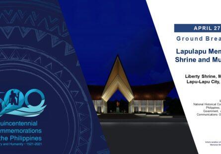 Ground Breaking of the Lapulapu Memorial Shrine and Museum