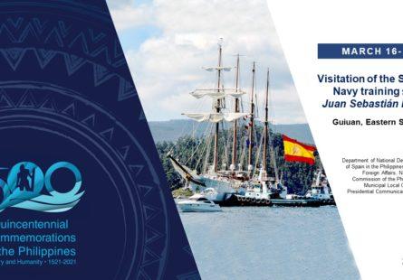 Visitation of the Spanish Navy training ship Juan Sebastián Elcano
