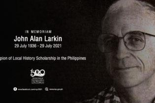 NQC Mourns the Passing John Alan Larkin